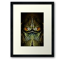 Zillon from the Planet Tharg Framed Print
