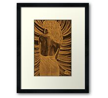 The spider woman Framed Print