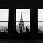 Silhouette of a City - Manhatten by Jonathon Speed