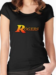 Rogers Drums Women's Fitted Scoop T-Shirt