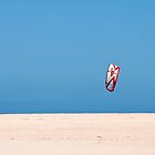 Kite, no surfer by Jason Ruth
