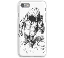 Ink Hooded Hiker iPhone Case/Skin