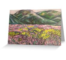 Heather and Hills Greeting Card