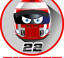 Jenson BUTTON_2014_Helmet #22 by Cirebox