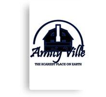 Amityville geek funny nerd Canvas Print
