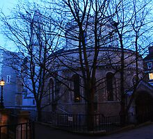 Temple Church by Peter Reid