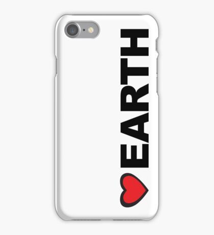 Love Earth iPhone Case/Skin