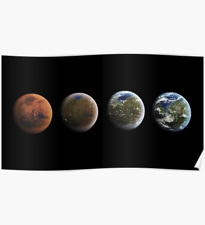 Road To The Red Planet Poster