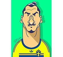 Zlatan Sweden Photographic Print