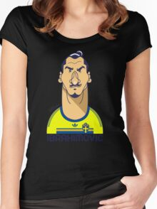 Zlatan Sweden Women's Fitted Scoop T-Shirt