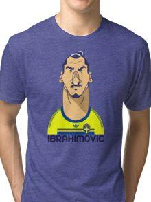 Zlatan Sweden Tri-blend T-Shirt
