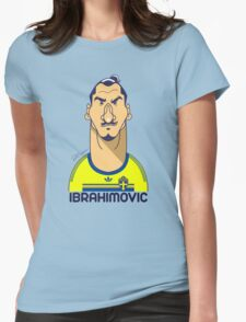 Zlatan Sweden Womens Fitted T-Shirt