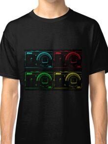 Nikon x 4 (PopArt) Classic T-Shirt