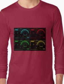 Nikon x 4 (PopArt) Long Sleeve T-Shirt