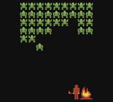 Zombie Invaders by robotrobotROBOT