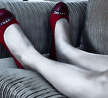 Red Shoes by Kellice Swaggerty