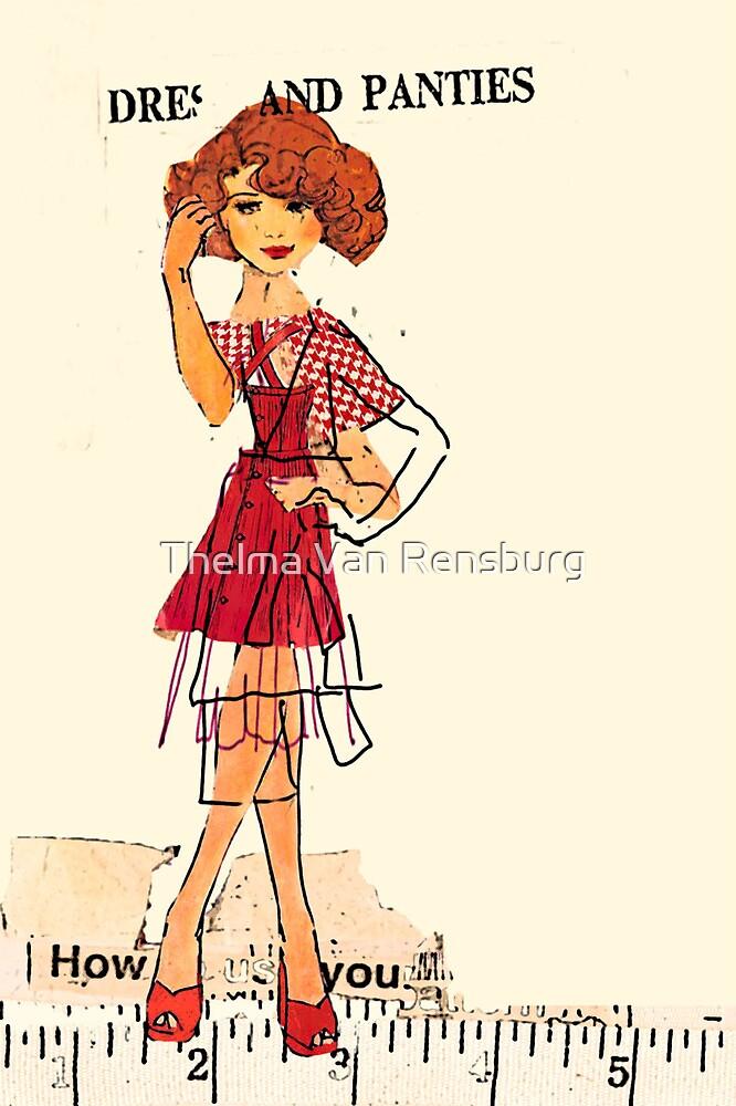 dress and panties, 2010 by Thelma Van Rensburg