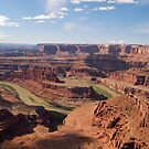 Colorado River at Dead Horse Point by Alex Cassels