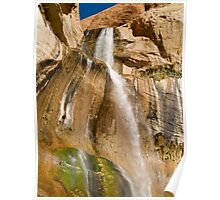 Lower Calf Creek Falls near Escalante Poster
