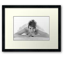 Shadowless Soft Light BW Framed Print