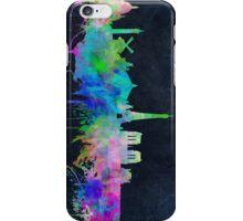 paris skyline abstract 9 iPhone Case/Skin