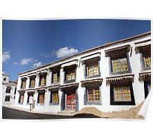 Windows - Lhasa, Tibet Poster