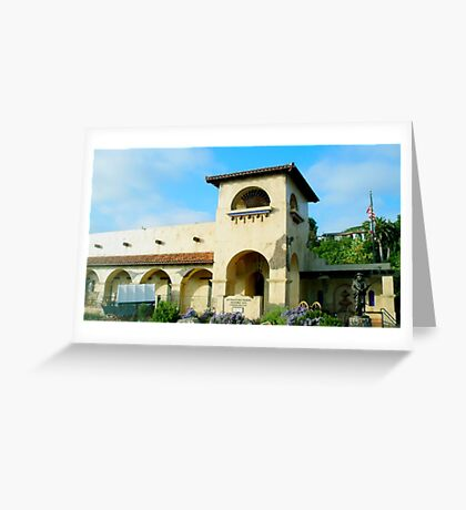 Historic site Greeting Card