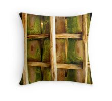 Roof Pattern - Vineyard in Tuscany, Italy Throw Pillow