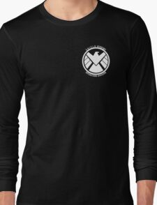 S.H.I.E.L.D. Academy Operations Division (white) Long Sleeve T-Shirt