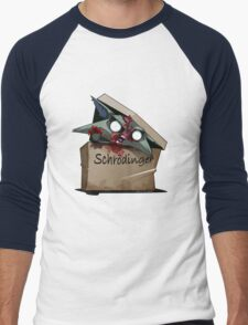 Schrödinger's Cat Solution Men's Baseball ¾ T-Shirt