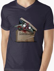 Schrödinger's Cat Solution Mens V-Neck T-Shirt