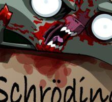 Schrödinger's Cat Solution Sticker
