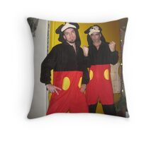 Big brother and little brother Throw Pillow