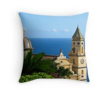 San Gennaro - Praiano, Italy Throw Pillow