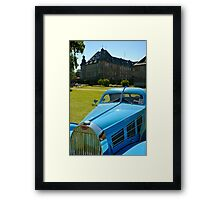 Bugatti Type 57 Aerolithe replica. Framed Print