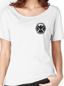 S.H.I.E.L.D. Academy Operations Division (black) Women's Relaxed Fit T-Shirt