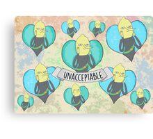 Lemongrab Canvas Print