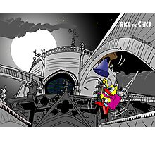 "Rick the chick ""THE HUNCHBACK OF NOTRE-DAME""  Photographic Print"
