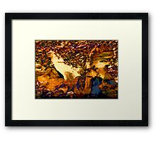 When This Was No Longer What Will Be Once Again. Framed Print