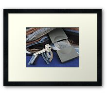 Sherlock Is Home Framed Print