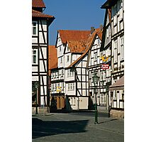 Timber Framed houses, Melsungen, Germany, 1980s. Photographic Print