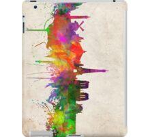 paris skyline abstract 10 iPad Case/Skin