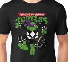 Mighty Morphin Turtles Donatello Black Ranger Unisex T-Shirt