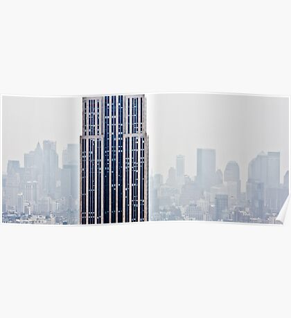 Empire State Building - New York Poster