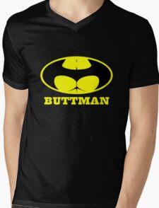 Buttman geek funny nerd Mens V-Neck T-Shirt