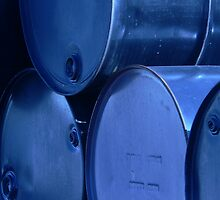 Industrial blue 2 by Isa Rodriguez