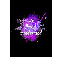 Taylor Swift Wonderland Photographic Print