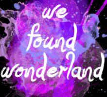 Taylor Swift Wonderland Sticker