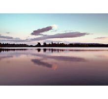 Dusk At Lake Mentieth Photographic Print