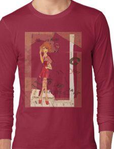 red dress Long Sleeve T-Shirt
